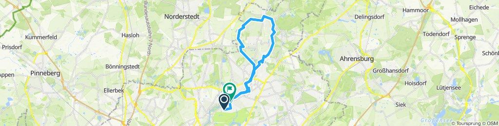 Moderate Route in Hamburg