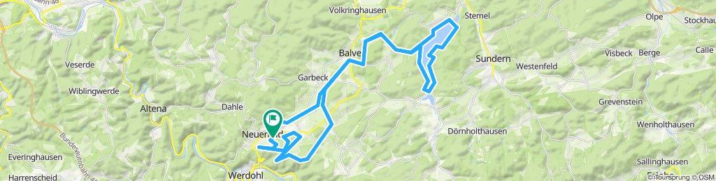 Moderate Route in Neuenrade