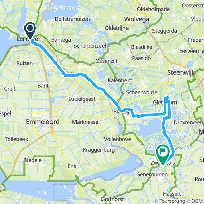 Ijsselmeer-Radtour-Etappe 6a
