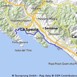 La Spezia - M. di Carrara - A/R CLONED FROM ROUTE 312408