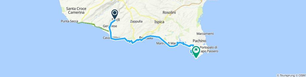 Scicli - capo isola delle correnti