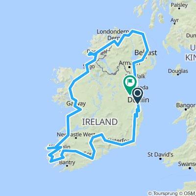 Circle Tour of Ireland