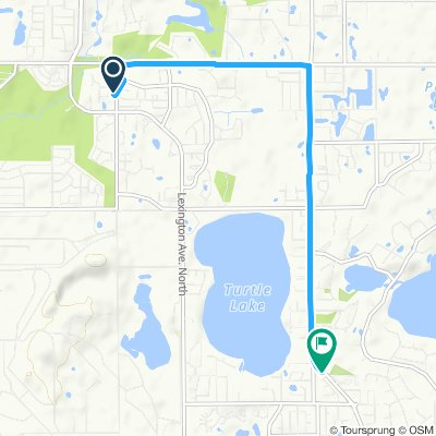 Moderate route in Shoreview