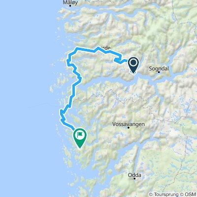 Route Norvege A2