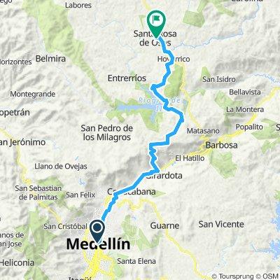 Day 10 - Medellin - Santa rosa de Osos