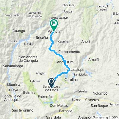 Day 11 - Santa rosa de Osos - Valdivia