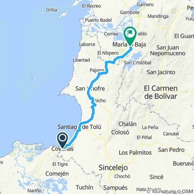 Day 15 - Coveñas - Cartagena - part 1