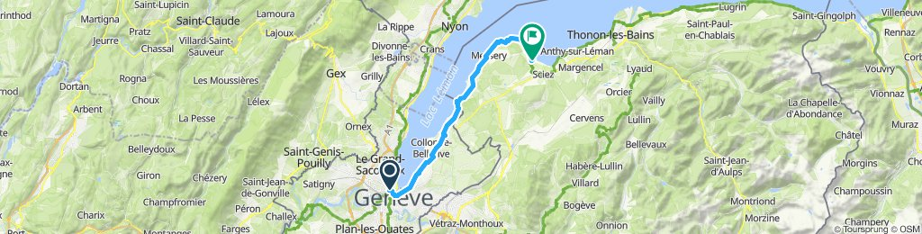 1. Tag Genf -  Camping La Pinede