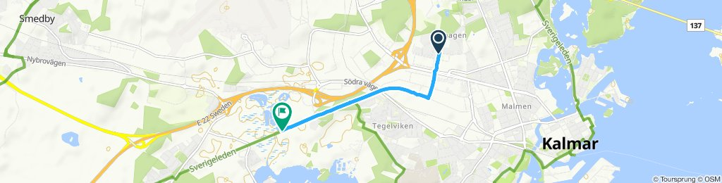 Easy ride in Kalmar