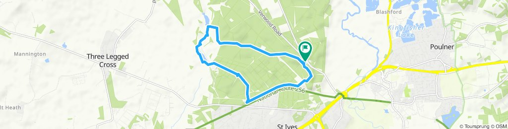 Easy ride in Ringwood