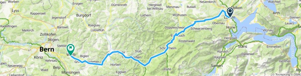 Luzern-Entlebuch-Worb