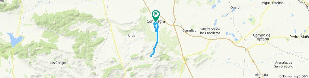 carretera valdepino y castillo