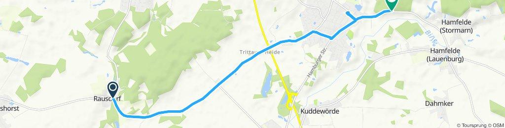Moderate Route in Trittau