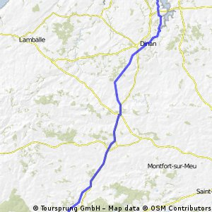 Stage 4 Norwich-Zaragoza (Saint Malo-Ploermel)