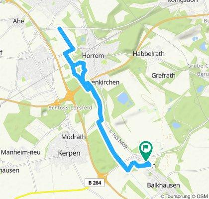 Moderate Route in Kerpen