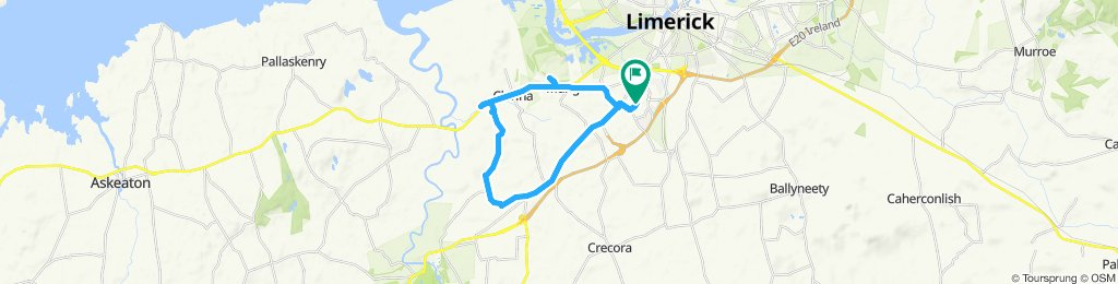 Steady ride in Limerick