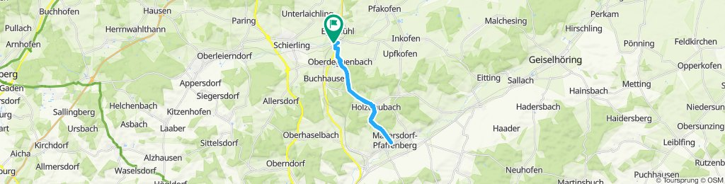 Moderate route in Schierling
