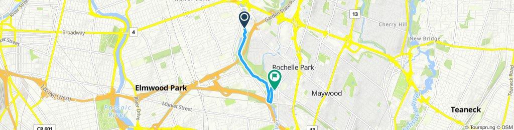 Slow ride in Rochelle Park