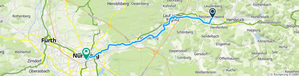 Fünf Flüsse Radtour Etappe 6