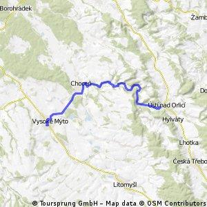 Vysoké Mýto - Ústí nad Orlicí