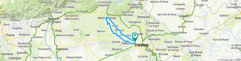 Percorso moderato in Treviso