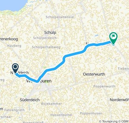 Moderate Route in Neuenkirchen