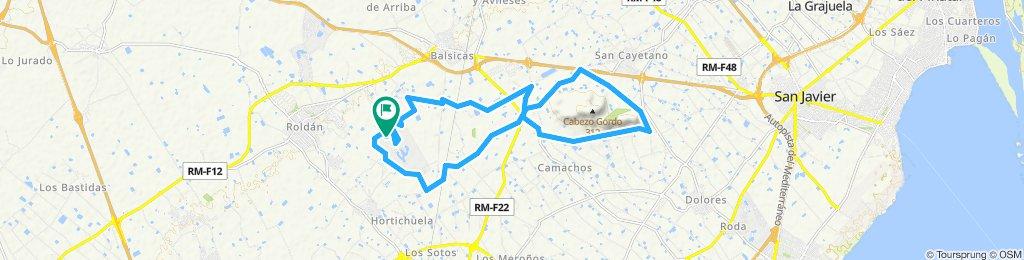 Sunday ride around Cabezo gordo