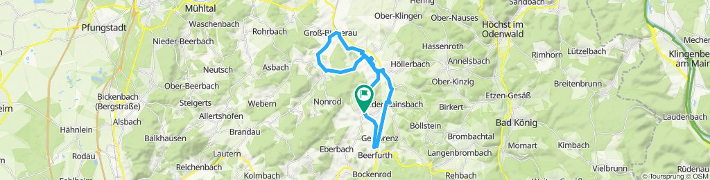 Bierbach, Wersau, Fischbachtal Groß Bieberau, Beerfurth, Fr.-Crumbach