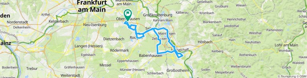 Obertshausen-Stockstadt und zurück