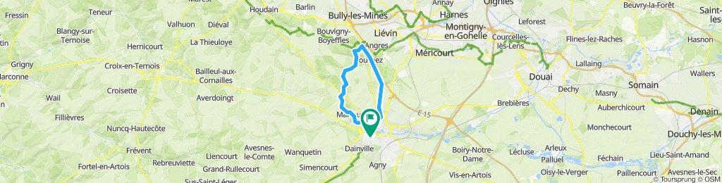 Arras ouest - Mont st-éloi -Notre-Dame de Lorette