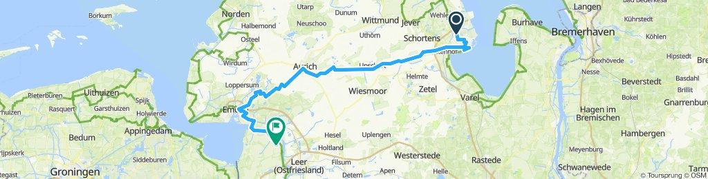 W'haven - Aurich - Emden - Midlum