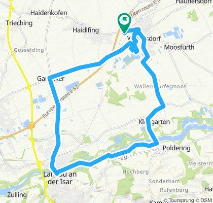 Gemütliche Route in Wallersdorf