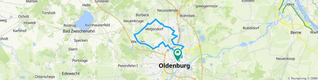 Inlinerstrecke Wehnen/Heidkamp