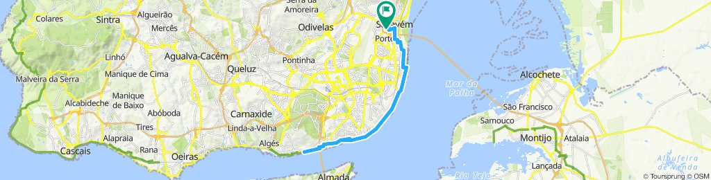 PRIMEIRA GRANDE Bike Route da Adriana