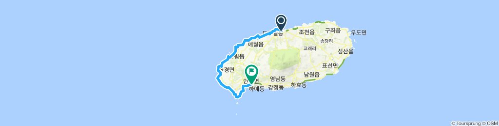 Jeju - Day 01 > 80KM