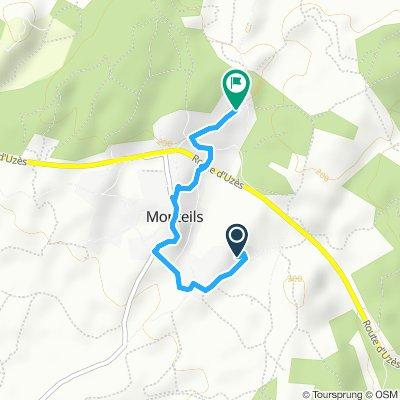 Itinéraire modéré en Monteils