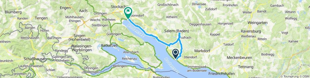 6. Nap A. Meersburg – Salem – Überlingen - Sipplingen – Ludwigshafen