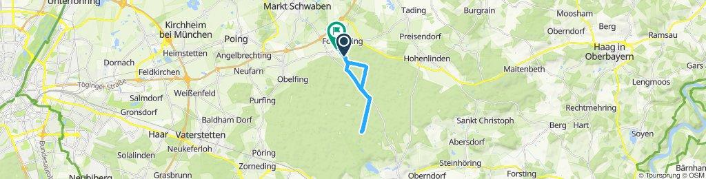 Gemütliche Route in Forstinning
