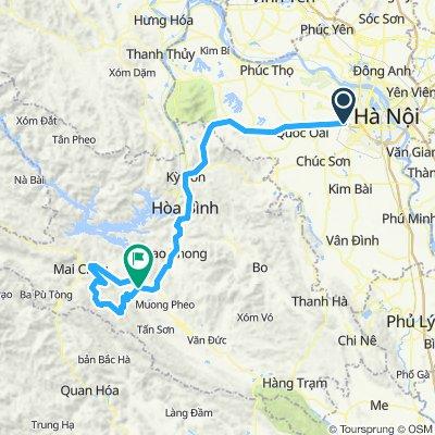 Hanoi-Hoa Binh-Deo Ke-Hoa Binh