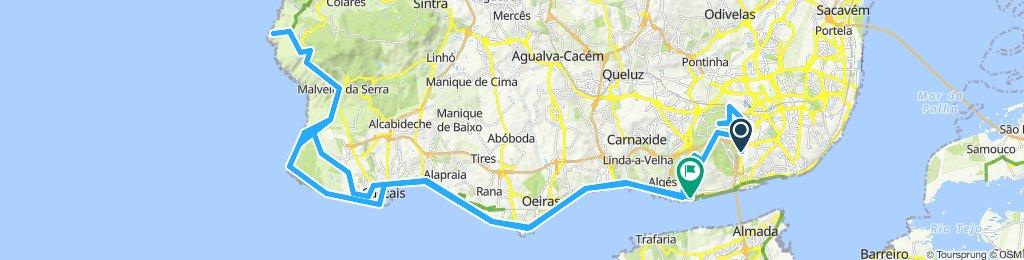 Lisboa - Cabo da Roca - Lisboa