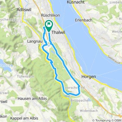 Horgenberg-Sihltal Tour