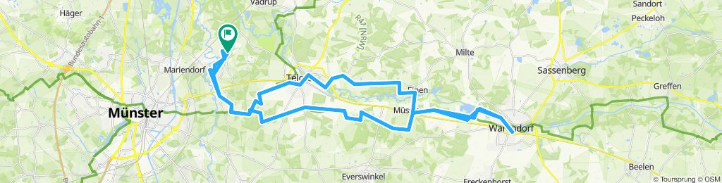 Rundtour: Münster-Handorf - Warendorf
