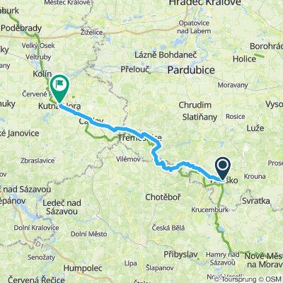 Hlinsko a Kutná Hora du 7 au 8