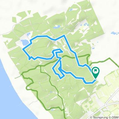 MTB route Westerschouwen