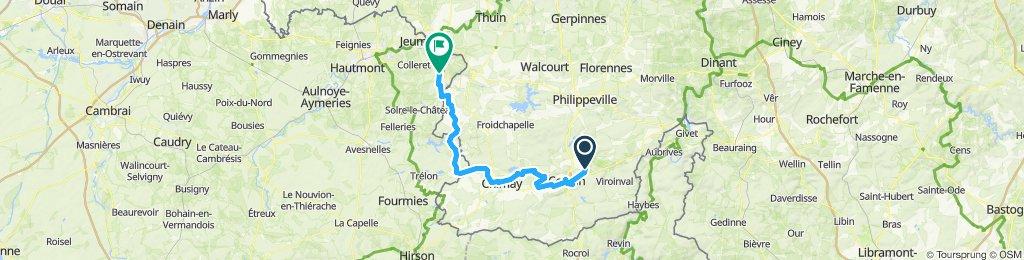 Etappe 5: Nismes-Cousolre