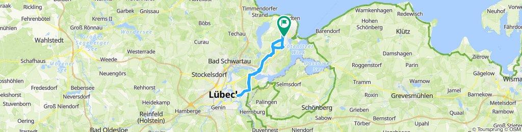 Travemünde-Lübeck-Travemünde