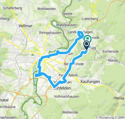 Rundfahrt über Lohfelden/Landwehrhagen