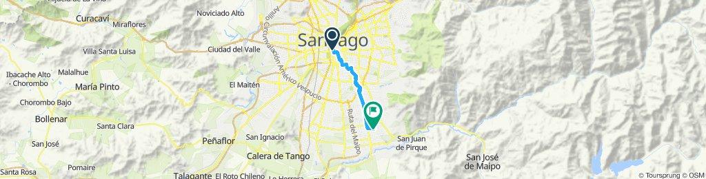 Paseo lento en Puente Alto