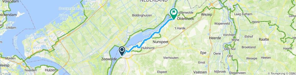 Harderwijk - Elburg (langs water)