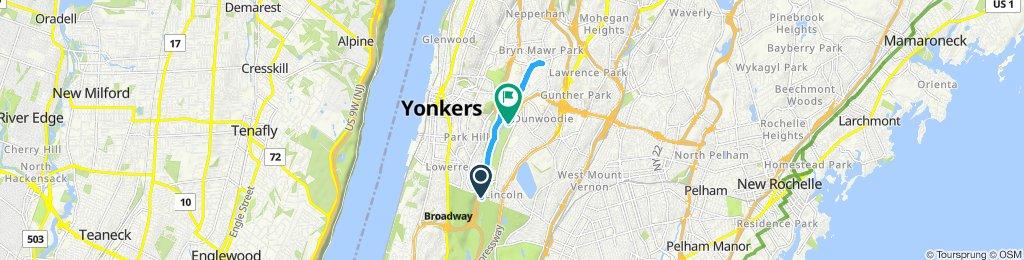 Not so Easy ride in Yonkers